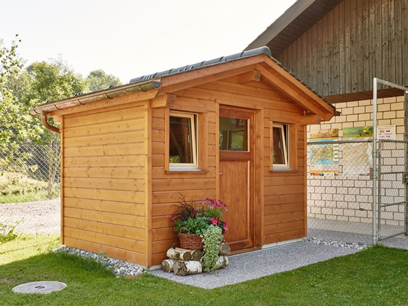 Truttmann Holzprofis Gartenhäuschen Pergola